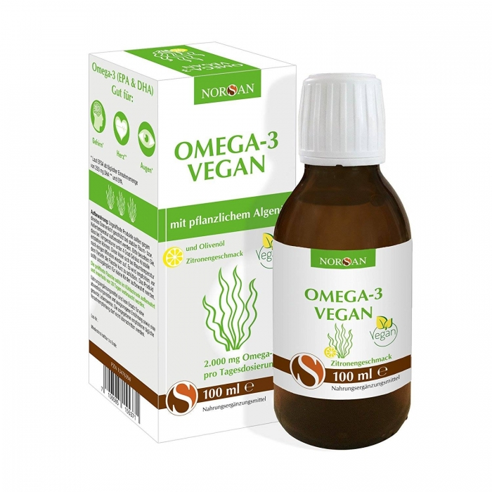 Omega-3 Vegan (2000mg EPA & DHA) NORSAN 100ml