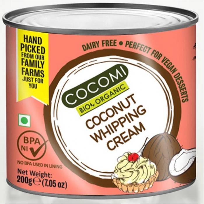 Kokosriekstu putukrējums BIO COCOMI, 200g