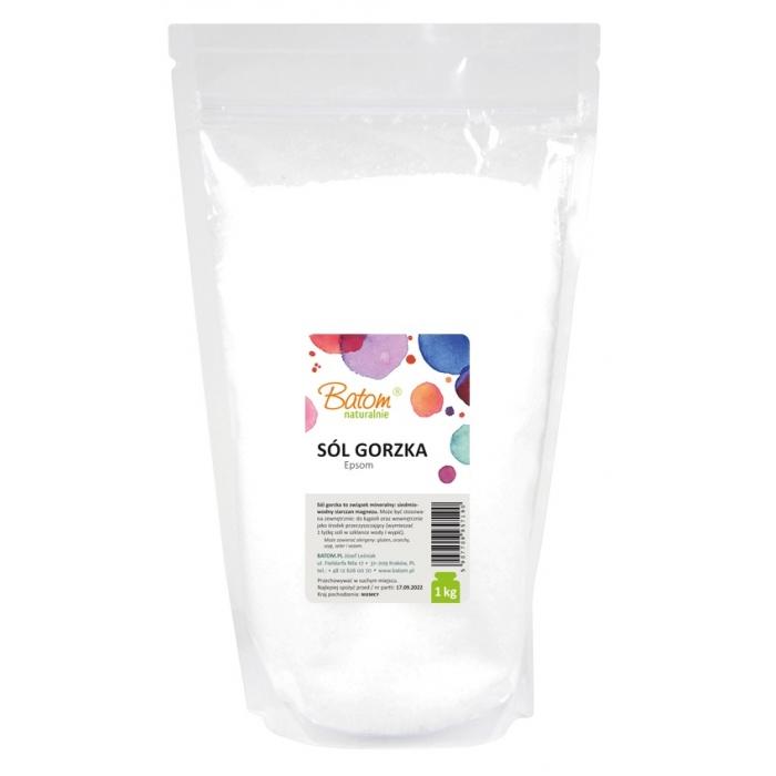 Epsom sāls (magnija sulfāta heptahidrāts 100%) 1kg