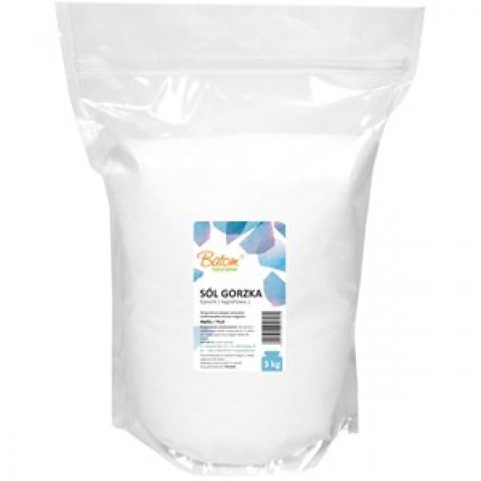 Epsom sāls (magnija sulfāta heptahidrāts 100%)  vannām 3kg