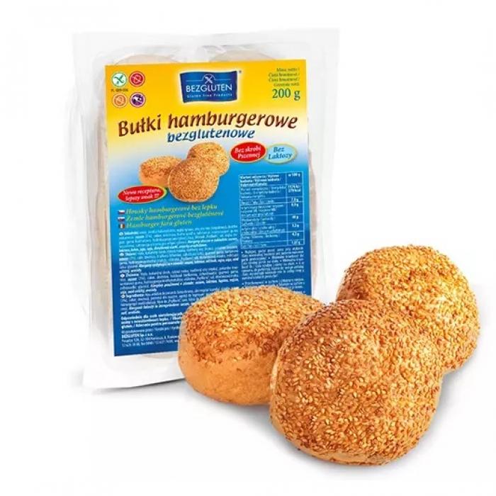 Hamburgeru maizītes bez glutēna 200g