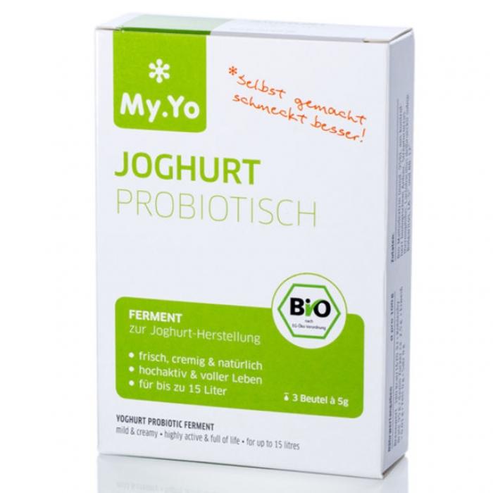 Jogurta ieraugs ar probiotikām BIO MY.YO 3x5g