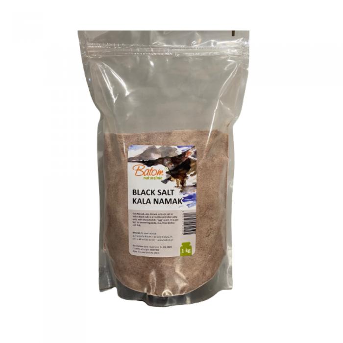 Melnais sāls Kala Namak smalkais BATOM 1 kg
