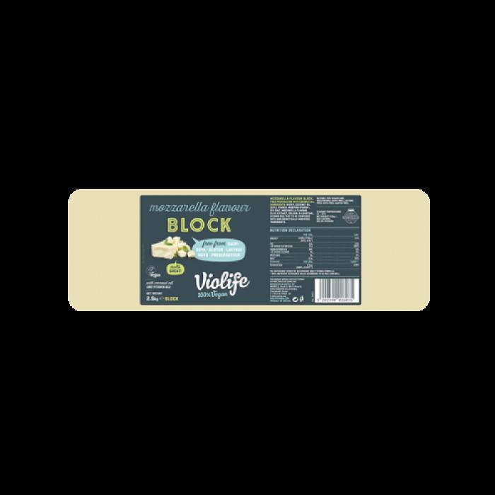 Siera alternatīva – picai ar mocarellas garšu (griezta no lielā bloka), VIOLIFE, 500g cena