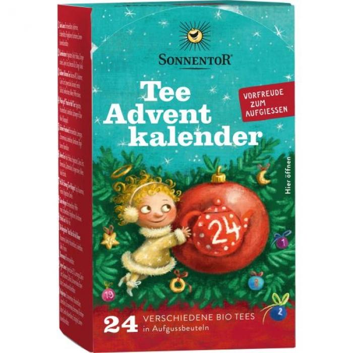 """""""Adventes komplekts"""" tēja BIO SONNENTOR 38g (24 tējas maisiņi)"""
