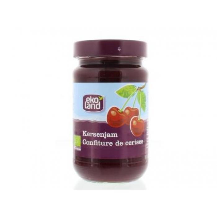 Ķiršu džems ar zemu cukura saturu BIO EKOLAND, 375g