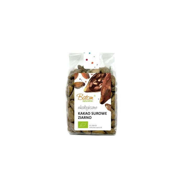 RAW Kakao pupiņas, veselas BIO BATOM NATURALNIE, 150g