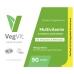 Multivitamīni Vegvit, 90 tab., Vegetology