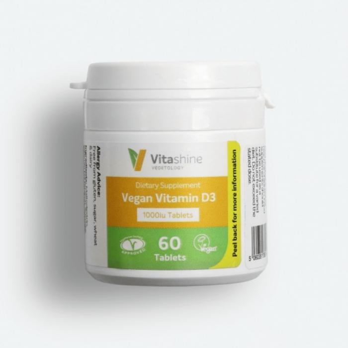 D3 vitamīns 1000IU, tab.