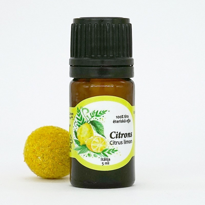 Citrona ēteriskā eļļa AROMAMA 5ml