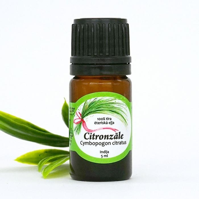 Citronzāles ēteriskā eļļa AROMAMA 5ml