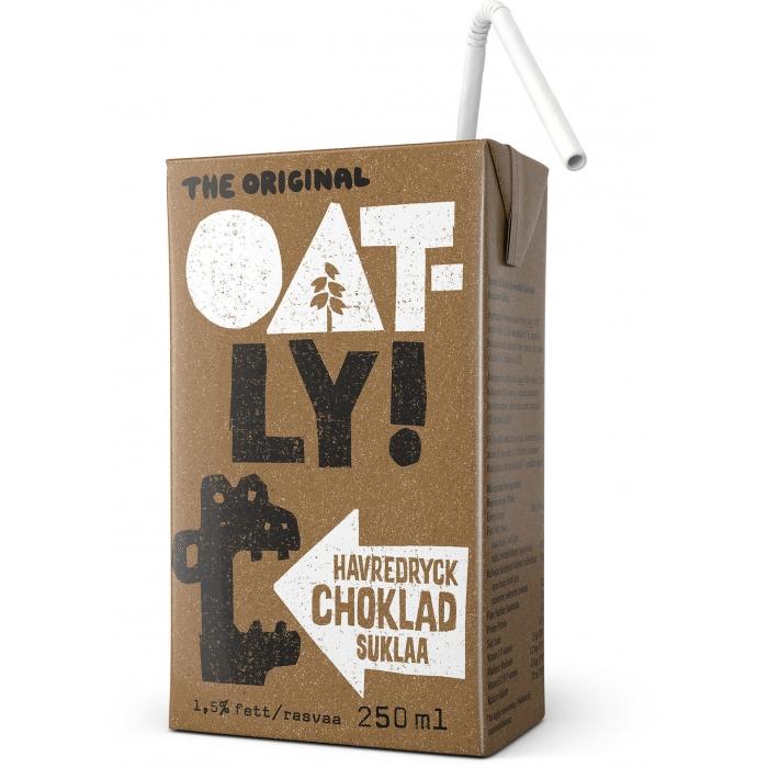 Auzu dzēriens ar šokolādi OATLY 250ml
