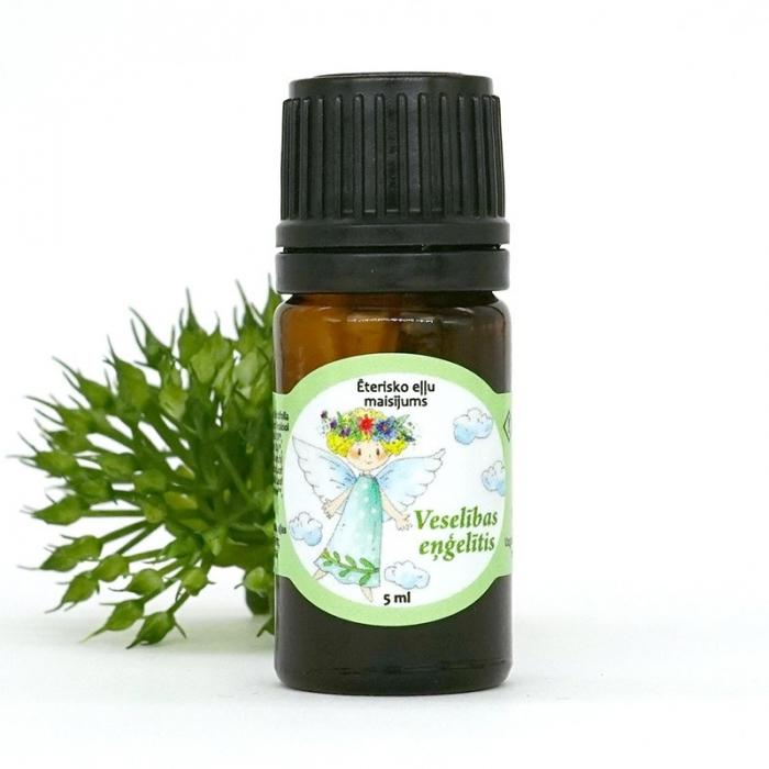Veselības eņģelītis ēterisko eļļu maisījums AROMAMA 5ml