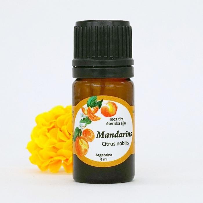 Mandarīnu ēteriskā eļļa AROMAMA 5ml
