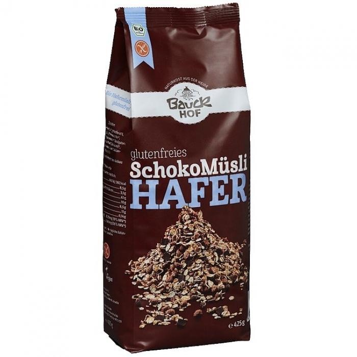 Šokolādes auzu muslis bez glutēna BIO 425g