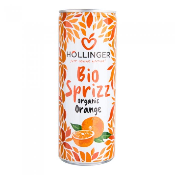 Apelsīnu limonāde, bundžā BIO 250 ml