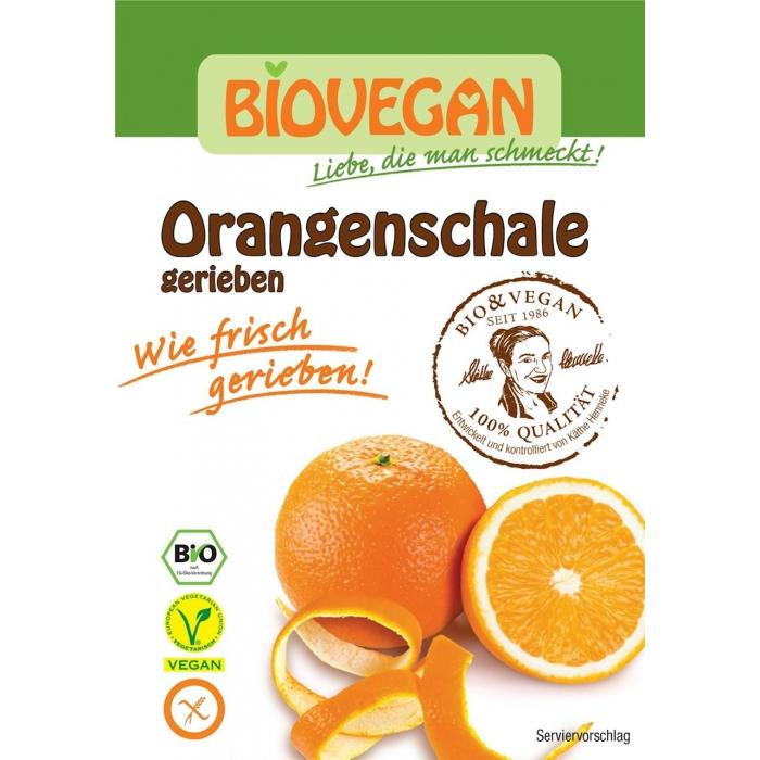 Apelsīnu mizas skaidiņas BIO 9g