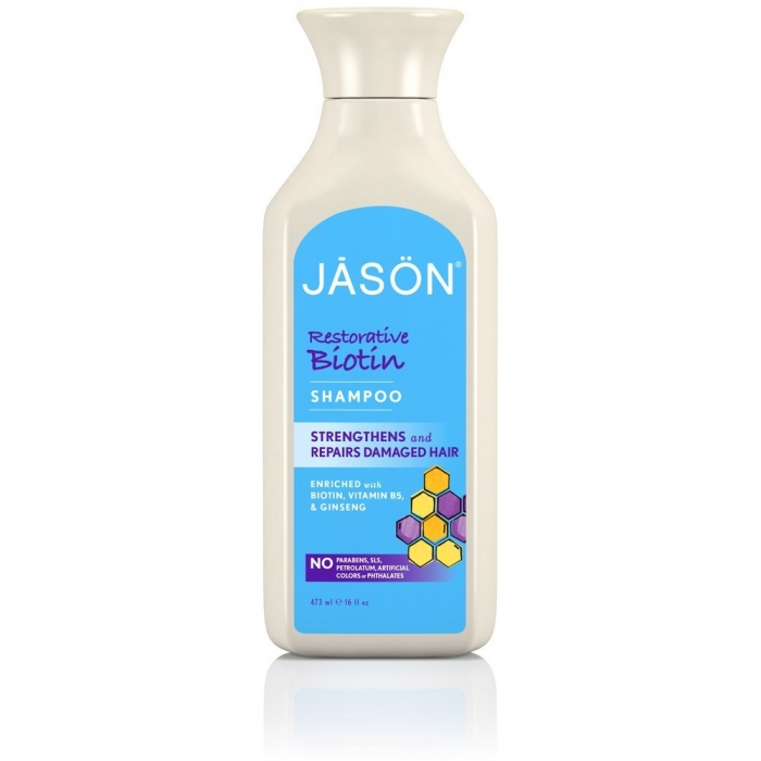 Atjaunojošs šampūns ar biotīnu 473ml