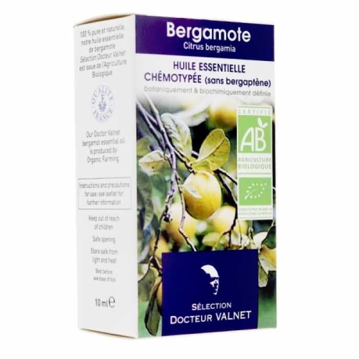 Bergamotes ēteriskā eļļa  BIO 10ml