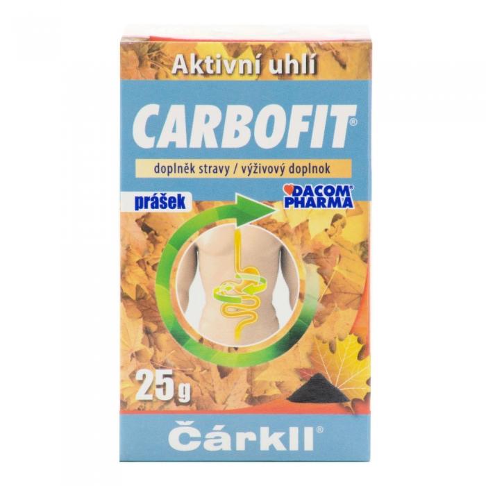 CARBOFIT aktīvās ogles pulveris 25g