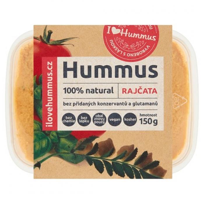 Hummus ar kaltētiem tomātie 150g