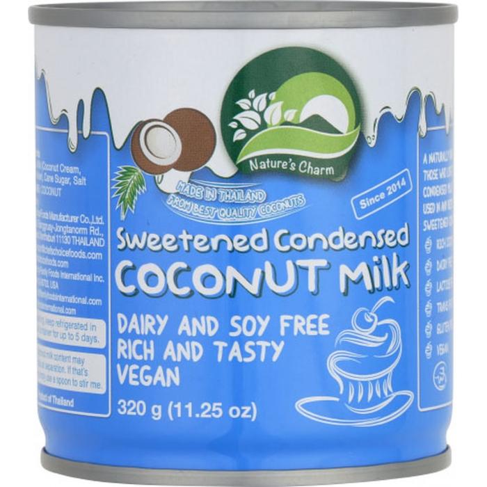Iebiezinātais kokosriekstu piens, saldināts 320g