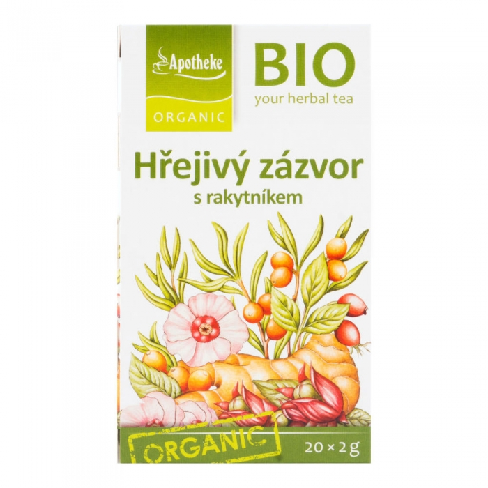 Ingvera tēja ar smiltsērkšķi BIO 40g