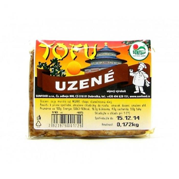 Kūpināts tofu, SUNFOOD, 200g +/-20g (1kg cena)