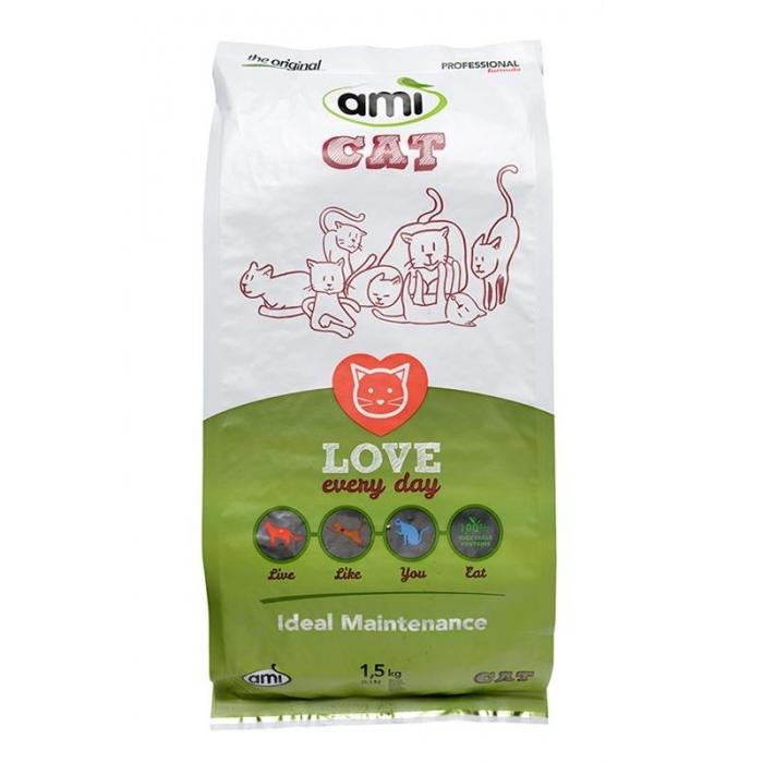 Kaķu sausā barība AMI CAT 1,5kg