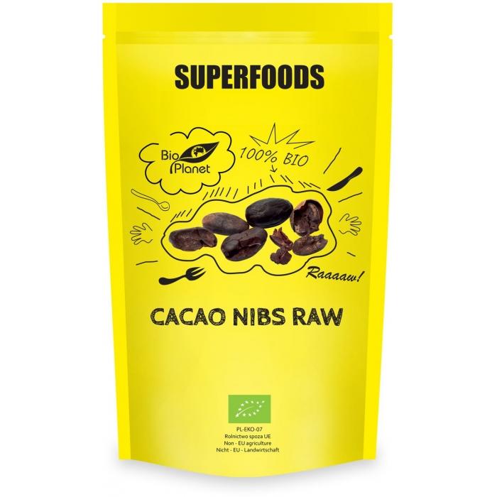Kakao pupiņas drupinātas BIO 250g
