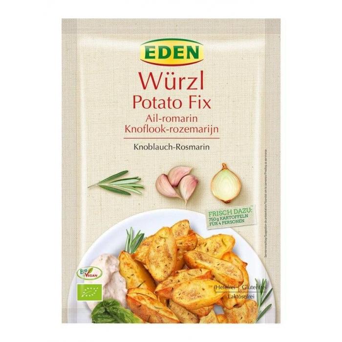 Kartupeļu garšvielas, rozmarīns - ķiploks BIO 31g