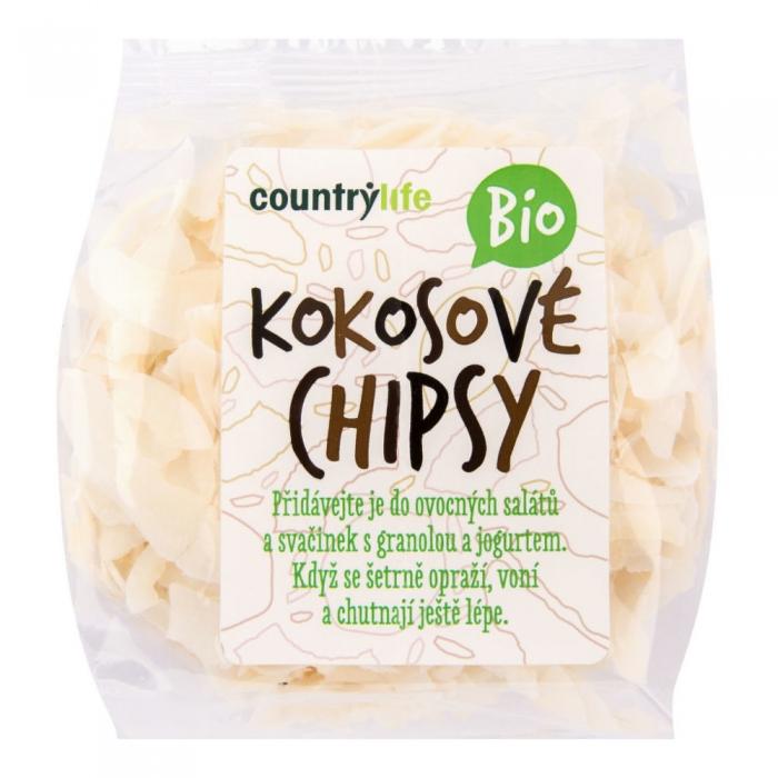 Kokosriekstu čipsi BIO 150g