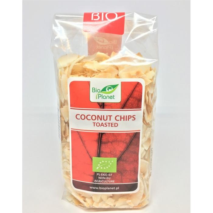 Kokosriekstu čipsi, apgrauzdēti BIO 150g