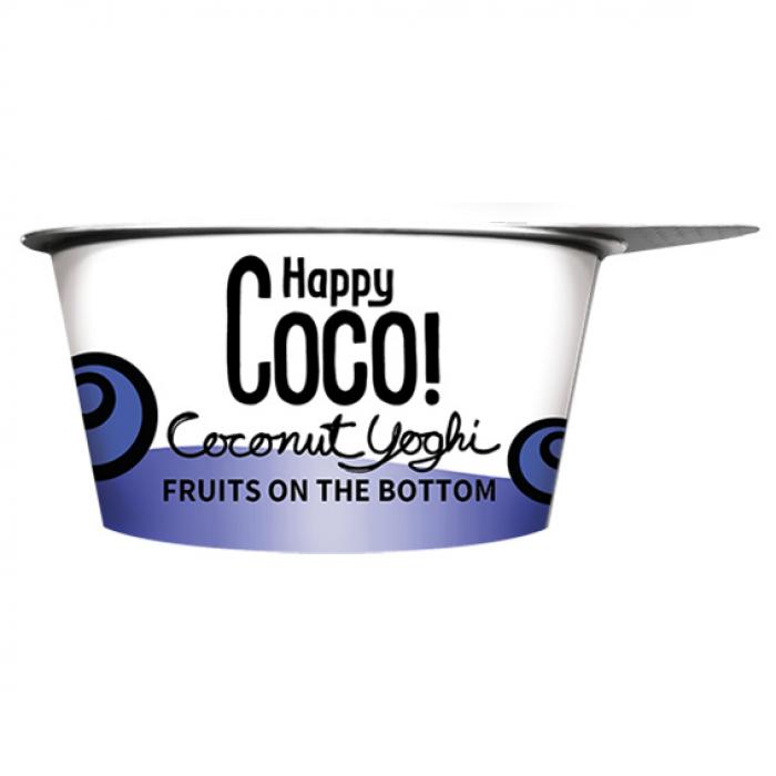 Kokosriekstu jogurta alternatīva ar dažādām ogām BIO 125g