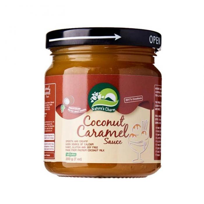 Kokosriekstu karameļu mērce 200g