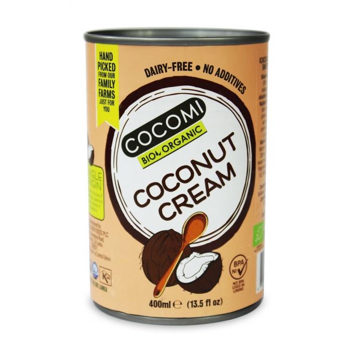 Kokosriekstu krēms 22% BIO 400ml