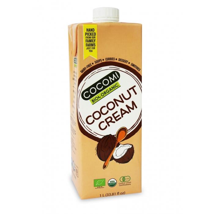 Kokosriekstu krēms BIO 1L