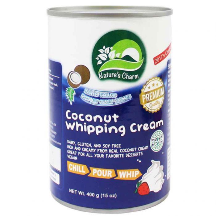 Kokosriekstu krēms putošanai, saldināts 400g