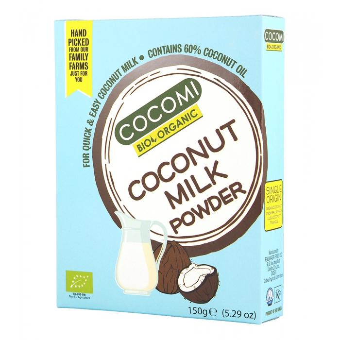 Kokosriekstu piena pulveris BIO 150g