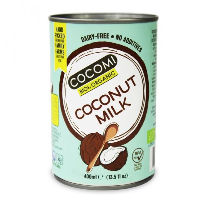 Kokosriekstu piens 17% BIO 400ml