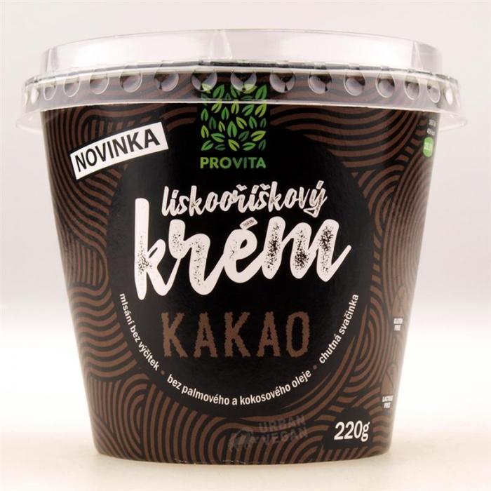 Lazdu riekstu krēms ar kakao 220g PROVITA
