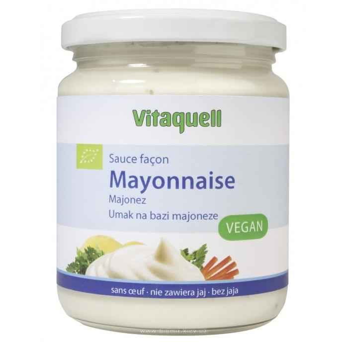 Majonēze, vegāniska, BIO, VITAQUELL, 250ml