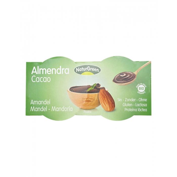 Mandeļu deserts ar šokolādi BIO 2×125g