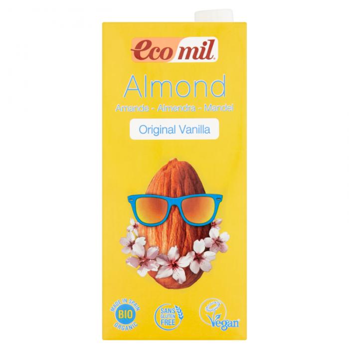 Mandeļu dzēriens ar vaniļu BIO 1l