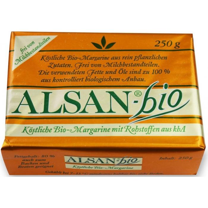 Margarīns, BIO, ALSAN, 250g