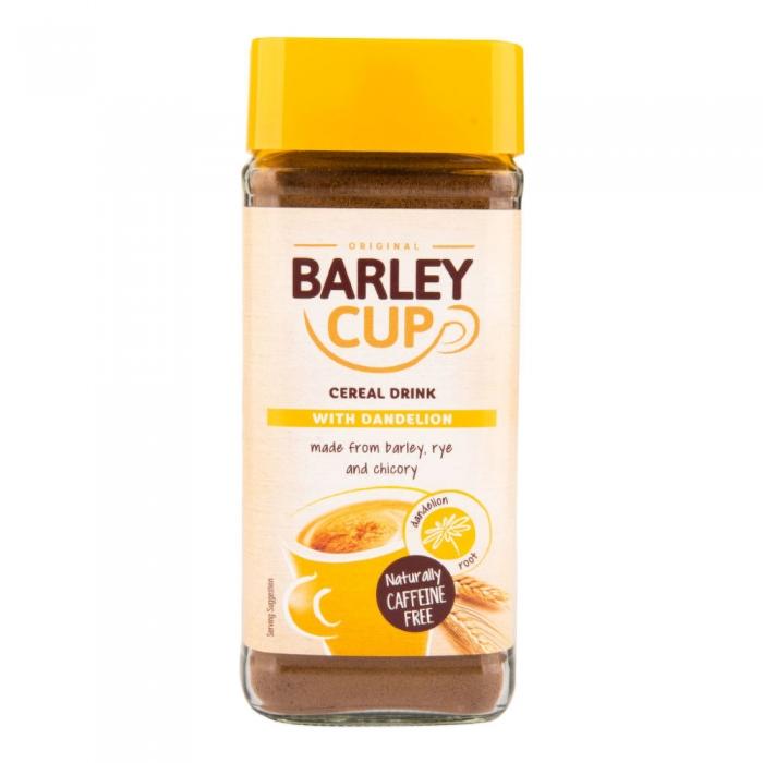 Miežu šķīstošā kafija ar pieneni  100g