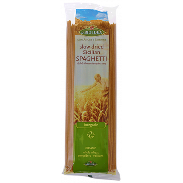Pilngraudu kviešu spageti BIO 500g