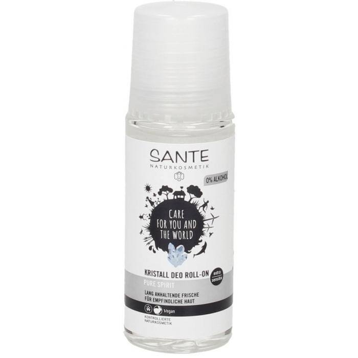 Pure Spirit kristālu dezodorants-rullītis BIO 50ml