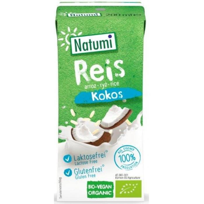 Rīsu kokosriekstu dzēriens BIO 200ml