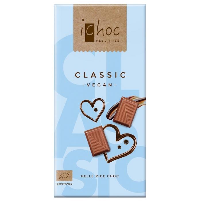 """Rīsu piena šokolāde """"Classic"""" BIO 80g"""